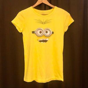 Despicable Me Minion Face T-shirt